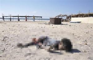La photo de cet enfant de Gaza tué par l'armée israélienne a-t-elle fait réagir BHL ? Non, bien sûr.